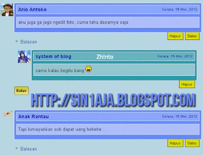 Kumpulan CSS Threaded Comments Blogger