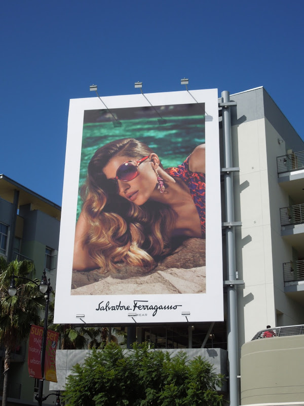 Salvatore Ferragmo eyewear 2012 billboard