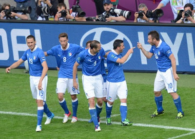 Spagna-Italia 1-1 highlights