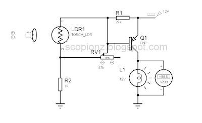 Automatic Brightness Control Circuit