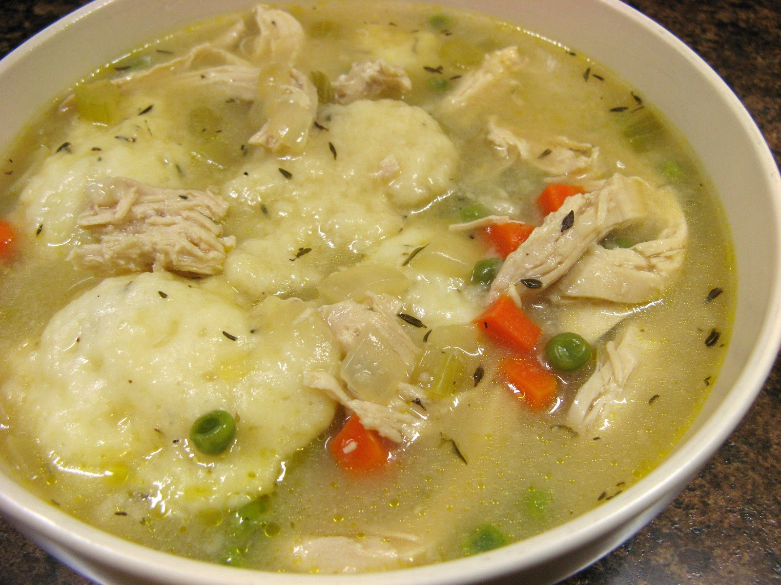 Texas Food And Travel: Easy southern style chicken and dumplings