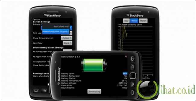 Pasang aplikasi penunjuk temperatur di smartphone