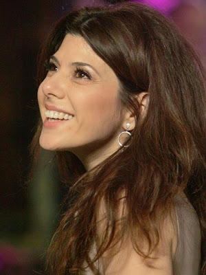 Marisa Tomei Sterling Dangle Earrings