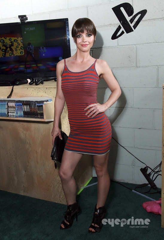 Christina Ricci - Playstation Living Room at Fashion Week