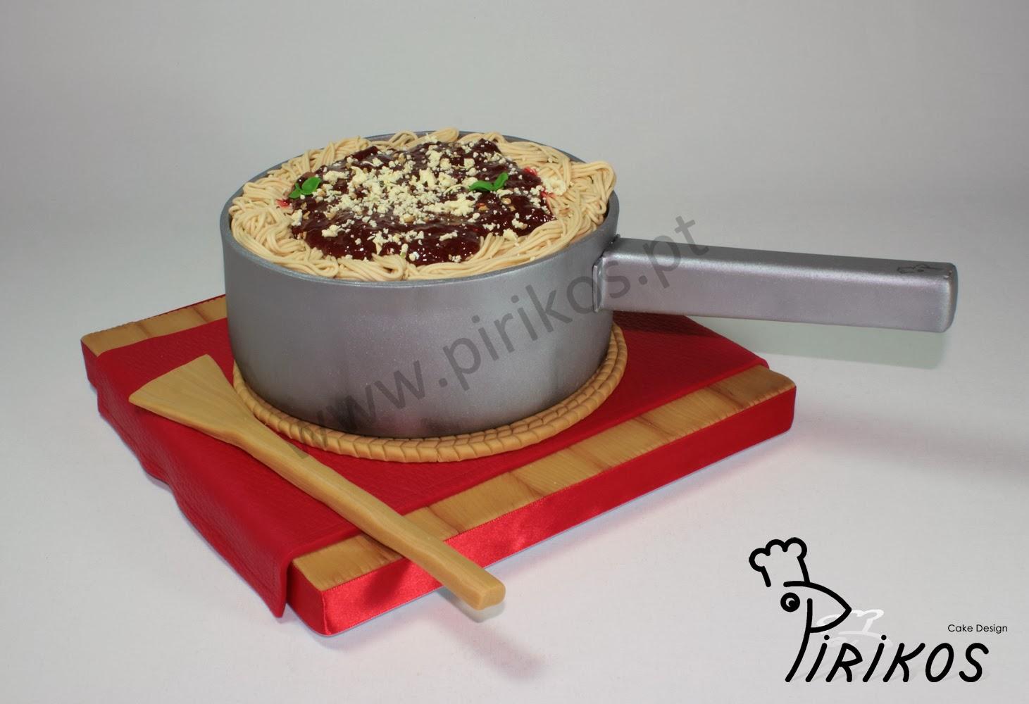 Pirikos Cake Design: Bolo - Massa Bolonhesa
