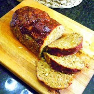 Carla Hall's Garlicky Meat Loaf 10.26.11