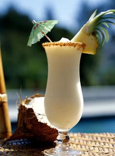 White Shark Rum Cocktail