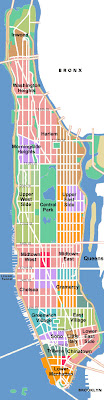Tourist Map of Manhattan