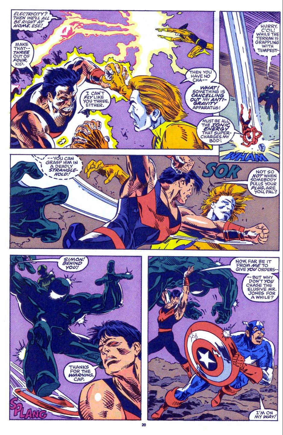 Captain America (1968) Issue #398b #332 - English 17