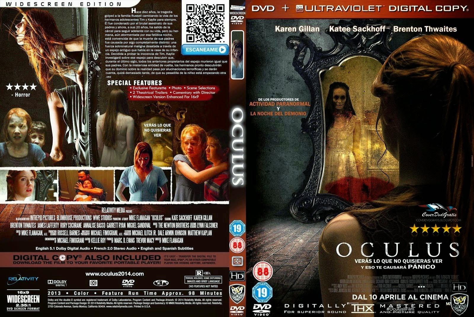 Oculus El Espejo Del Mal DVD