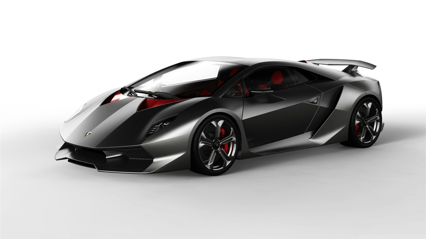 Latest and new sport car wallpapers lamborghini sesto elemento concept car 1366x768 resolution wallpaper download voltagebd Gallery