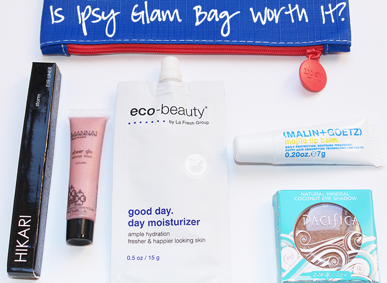 Ipsy Glam Bag Review : Is Ipsy Worth It?