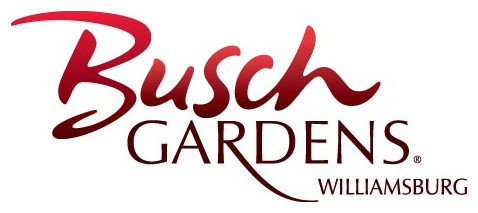 The layout for Busch Gardens