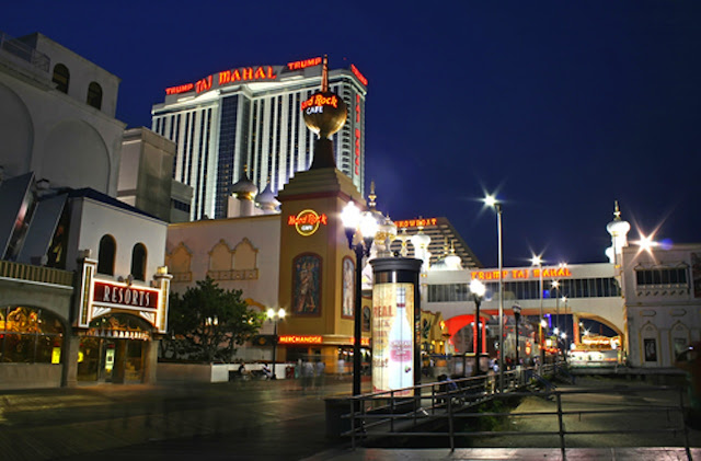 ATLANTIC CITY - TORRE DA TRUMP TAJ MAHAL