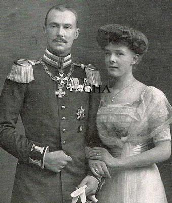 Friedrich Wilhelm de Prusse et Agathe von Ratibor und Corvey