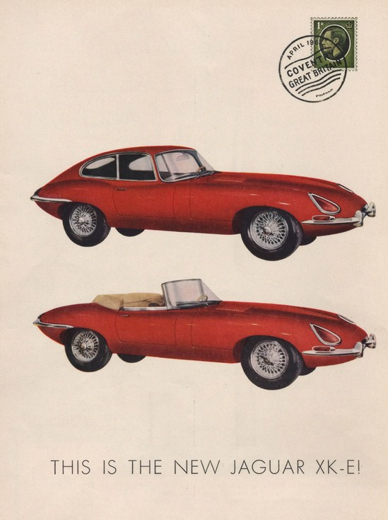 Saved From The Paper Drive  Jaguar E Type