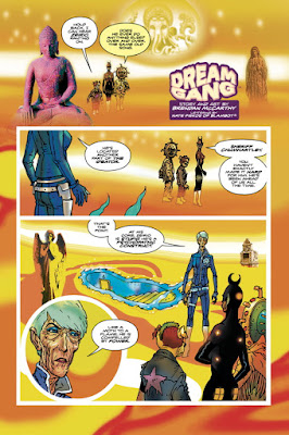 Dream Gang, comic, Dark Horse, image