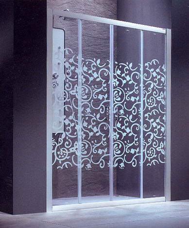 Good glass cortinas de ba o en aluminio y vidrio for Banos con repisas de vidrio