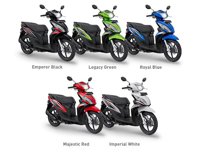 honda spacy warna hijau spesifikasi