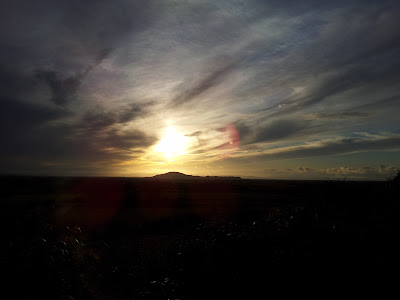 Sunset over Somerset