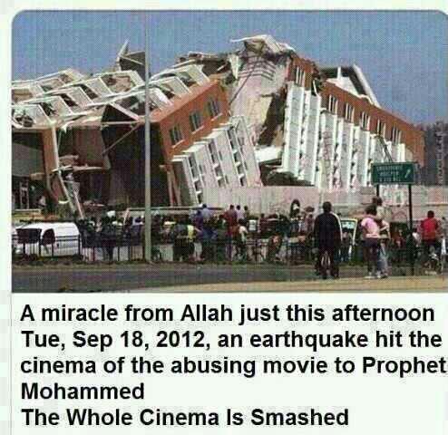 Bioskop Film Innocence of Muslims Terbelah Dua