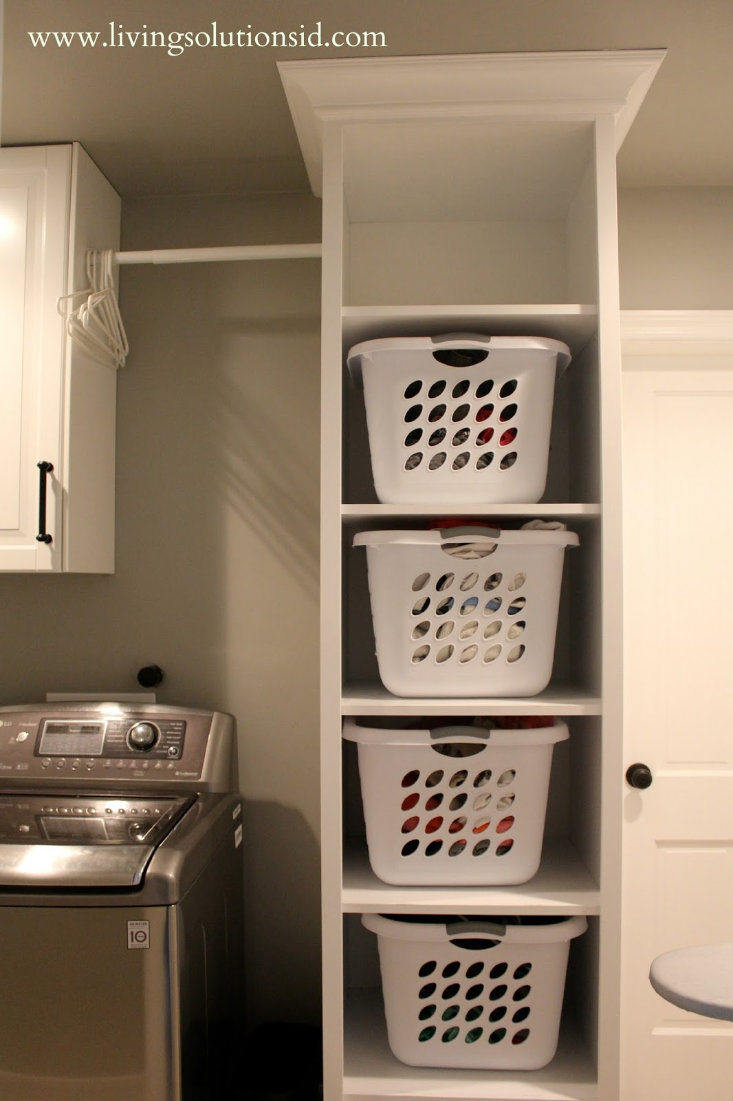 The laundry room today Laundry room storage