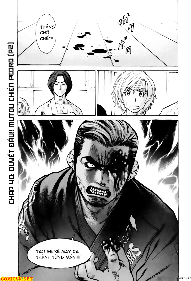 Karate Shoukoushi Kohinata Minoru chap 40 Trang 2