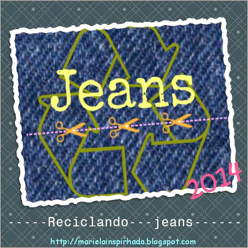 te gusta reciclar jeans?