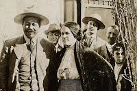 Pancho Villa with wife Maria Luz Corral