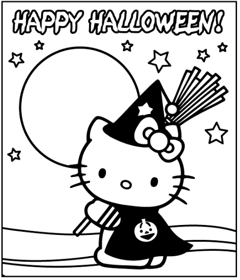 Hello Kitty is celebrating Halloween : Mad about Kitty