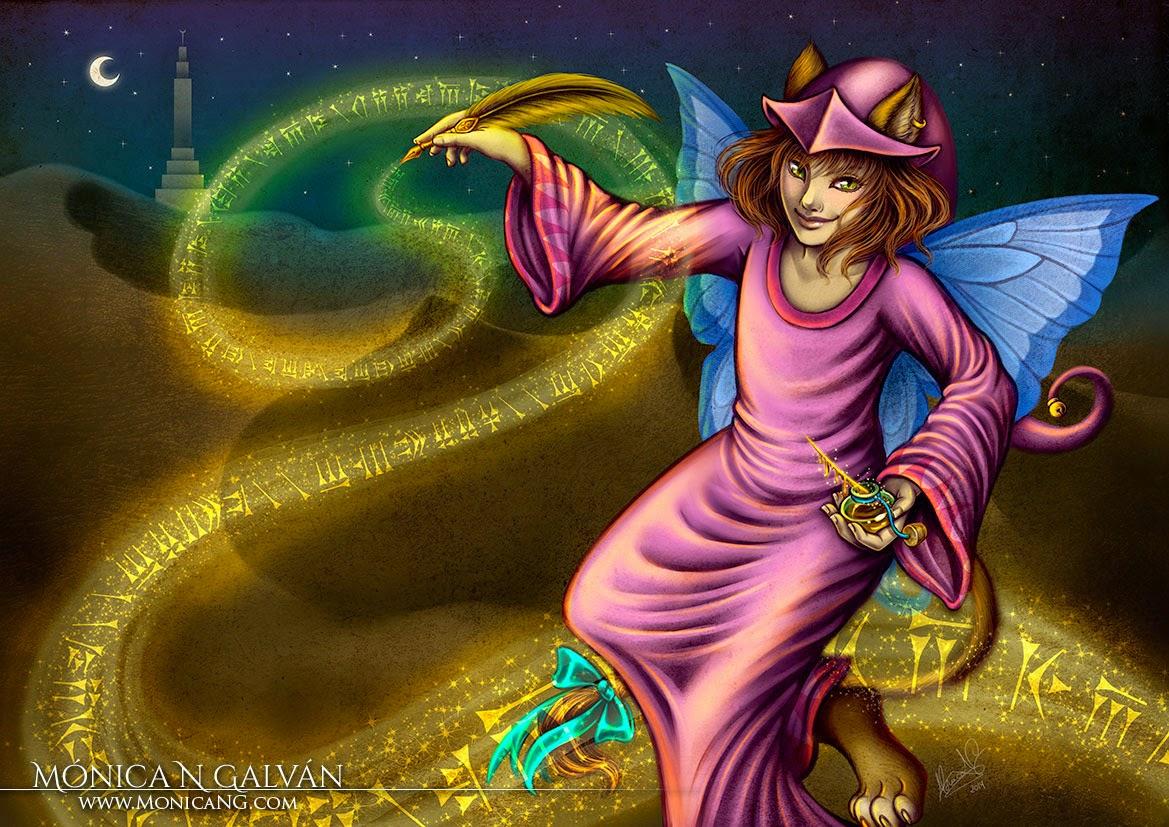 Frija Aretai by Enchanted Visions artist, Monica N. Galvan