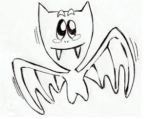 Desenhos de Morcego