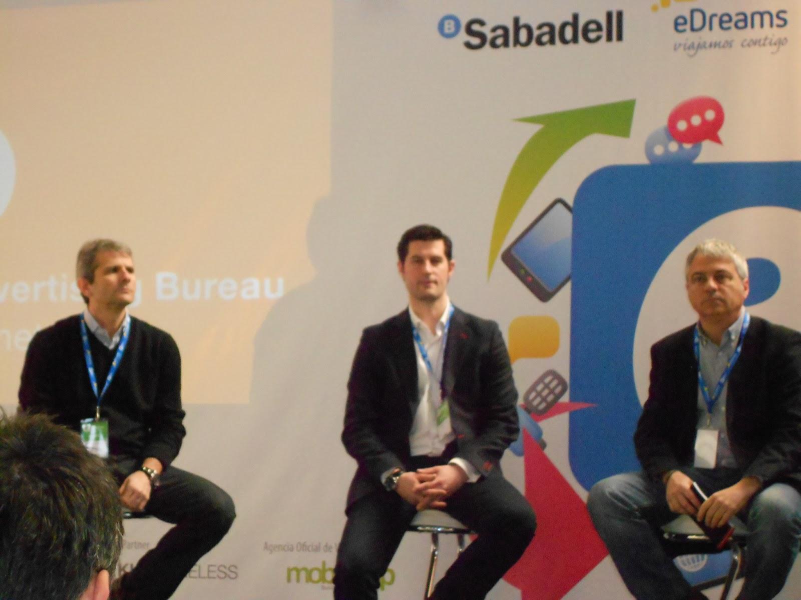 Foro IAB España- De izquierda a derecha: Marcel.li Zuazua [Harraiz & Soto], Miguel Sánchez [Havas] y Álex Marquina [TV3]