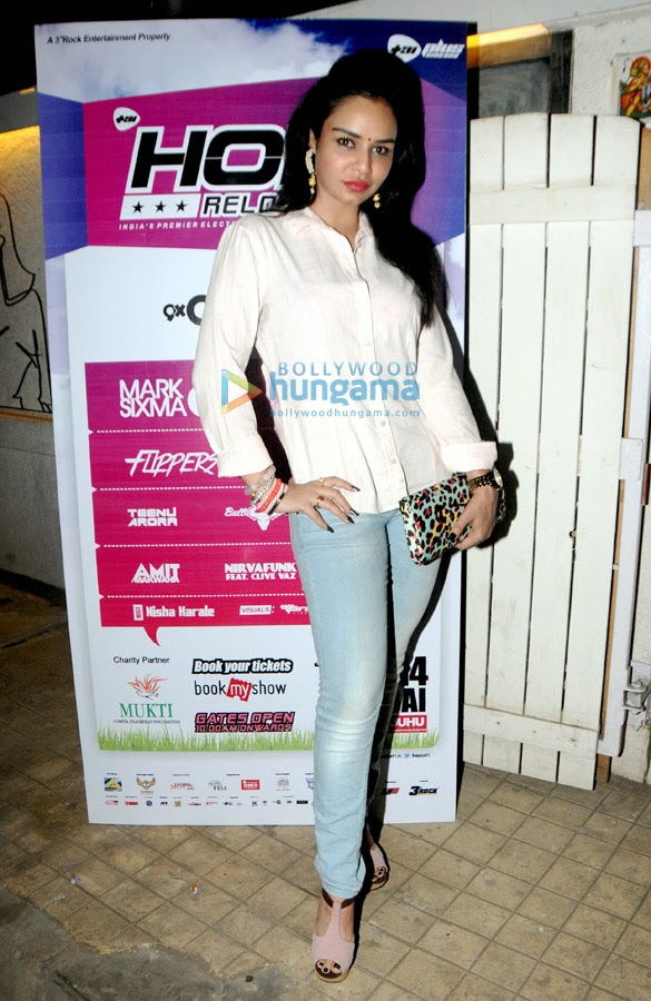 Celebs grace 'Holi Reloaded 2014' bash