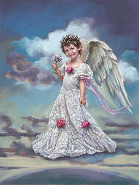 Angeli con il pennello gli angeli bambini di sandra kuck - Image de cupidon gratuite ...