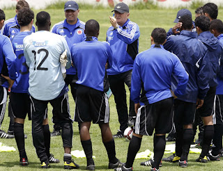 Egipto, Arabia, Costa Rica y Colombia jugarán cuadrangular amistoso