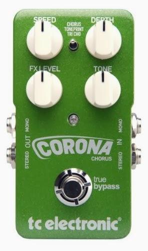 TC Electronic Toneprint Best Chorus Pedal Corona