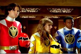 Cena da série Power Rangers: Dino Trovão