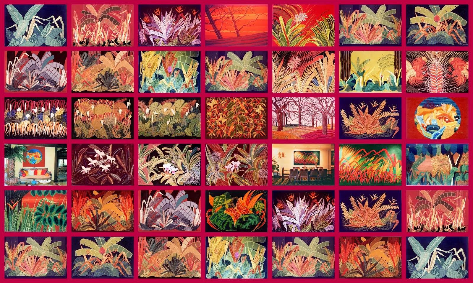 Tapestry and Fiberart by Vivian Silva.