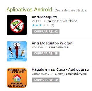 App Android para espantar mosquitos, são uma fraude para roubar o seu dinheiro