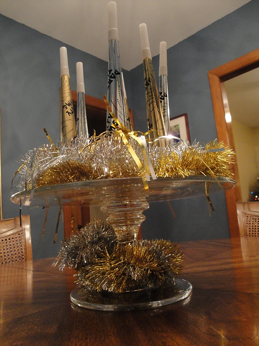 New years eve party on pinterest new years eve bling - New years eve centerpieces ...