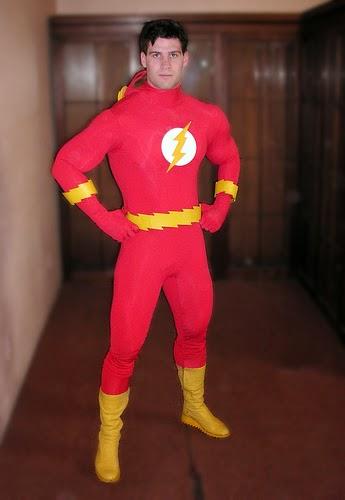 Man Posing In Costume