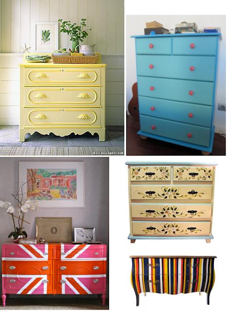 But beauty decorando como decorar seu quarto gastando pouco - Comodas pintadas ...