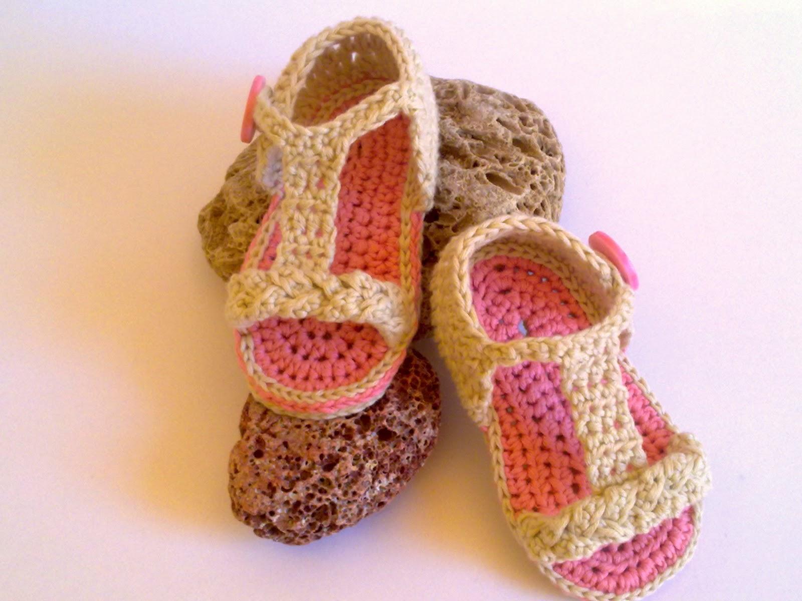 Patrones sandalias de crochet - Imagui