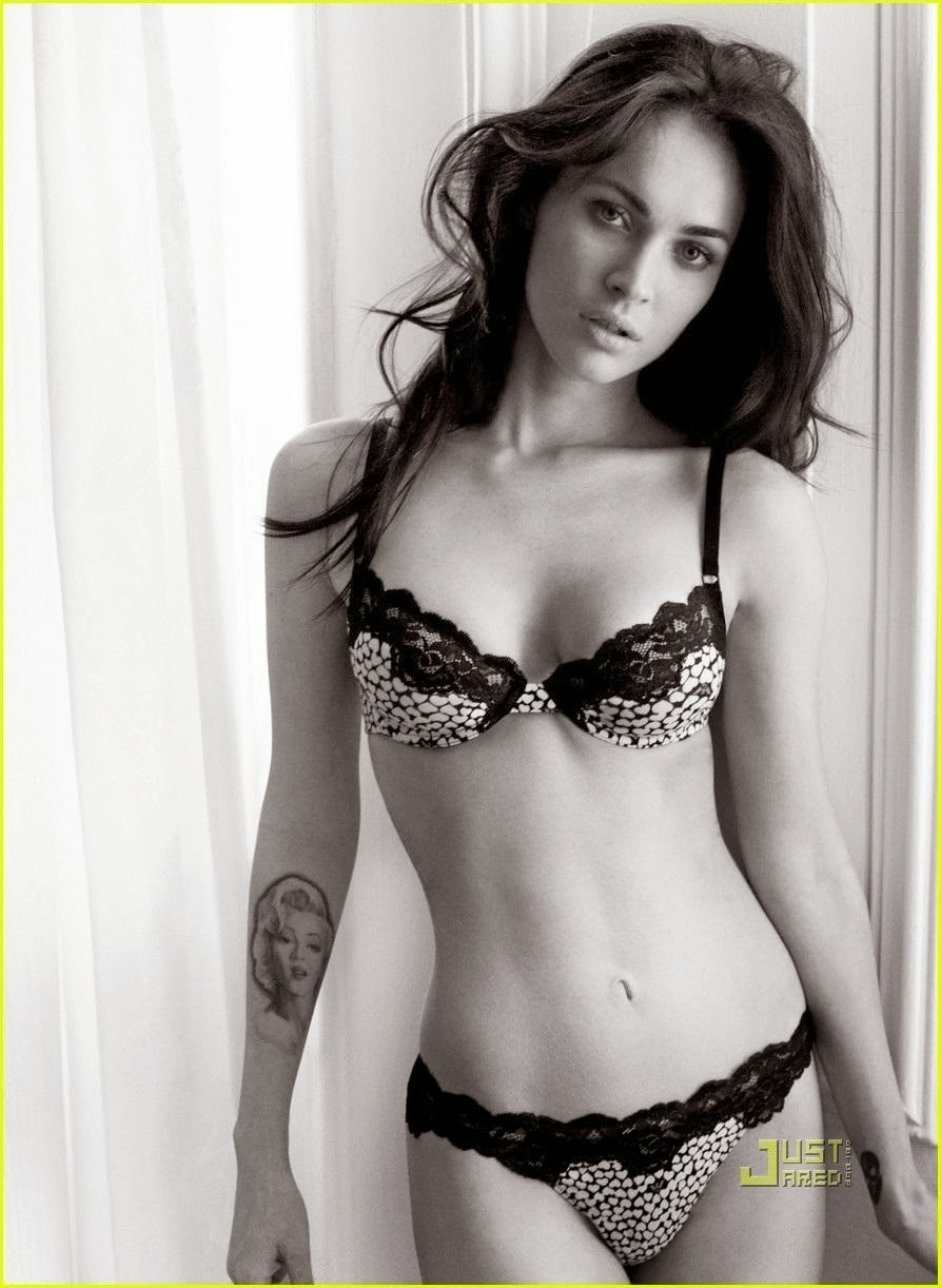 Megan Fox Body Celebrity Magazine