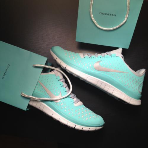 Nike Free Run Bleu Turquoise
