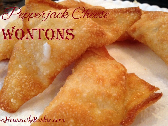 how to make cheese wontons at home