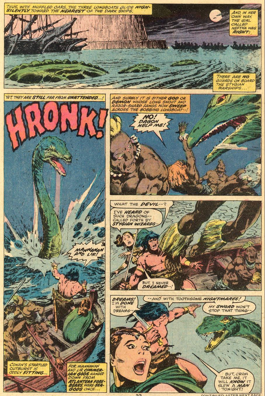 Conan the Barbarian (1970) Issue #74 #86 - English 13