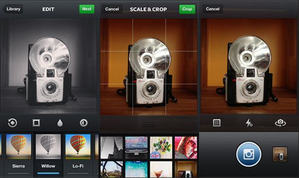 Aplikasi kamera instagram android