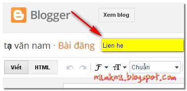 Tối ưu một bài viết trong blogspot
